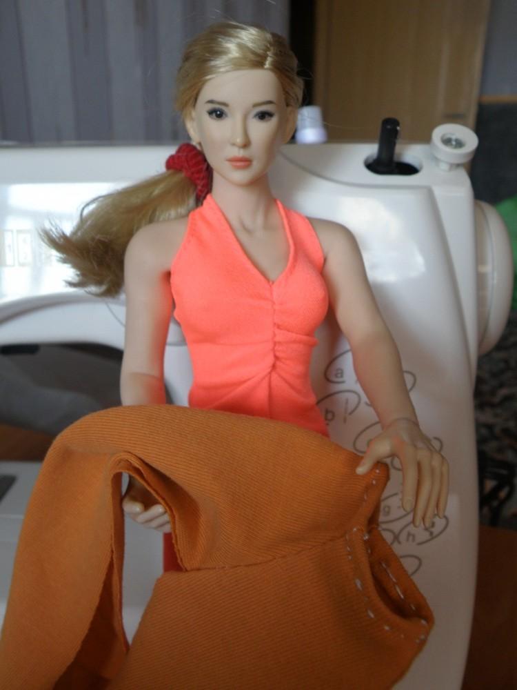 Одежда для куклы Fashion Royalty своими руками