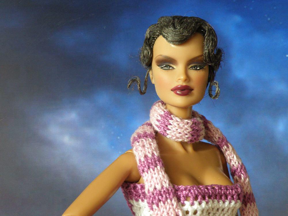 Вяжем для кукол Fashion Royalty