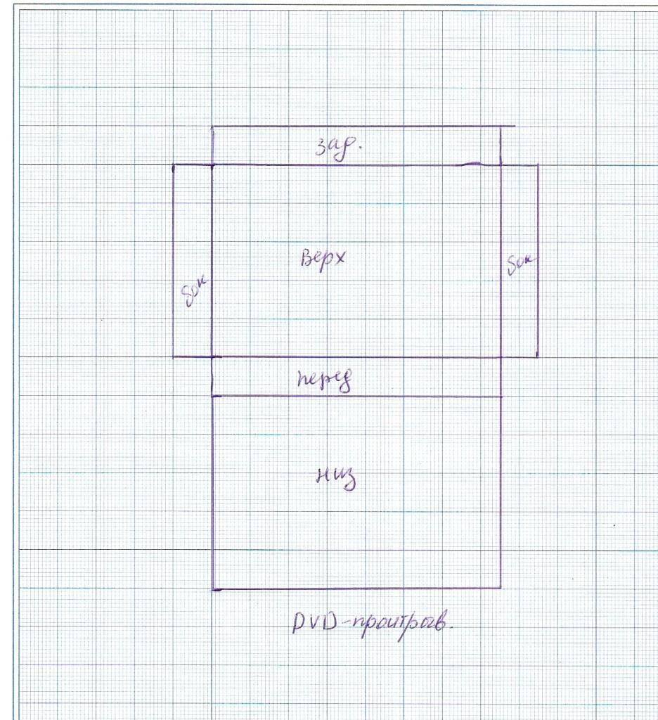 схема двд проигрывателя для кукольного дома, кукольная миниатюра