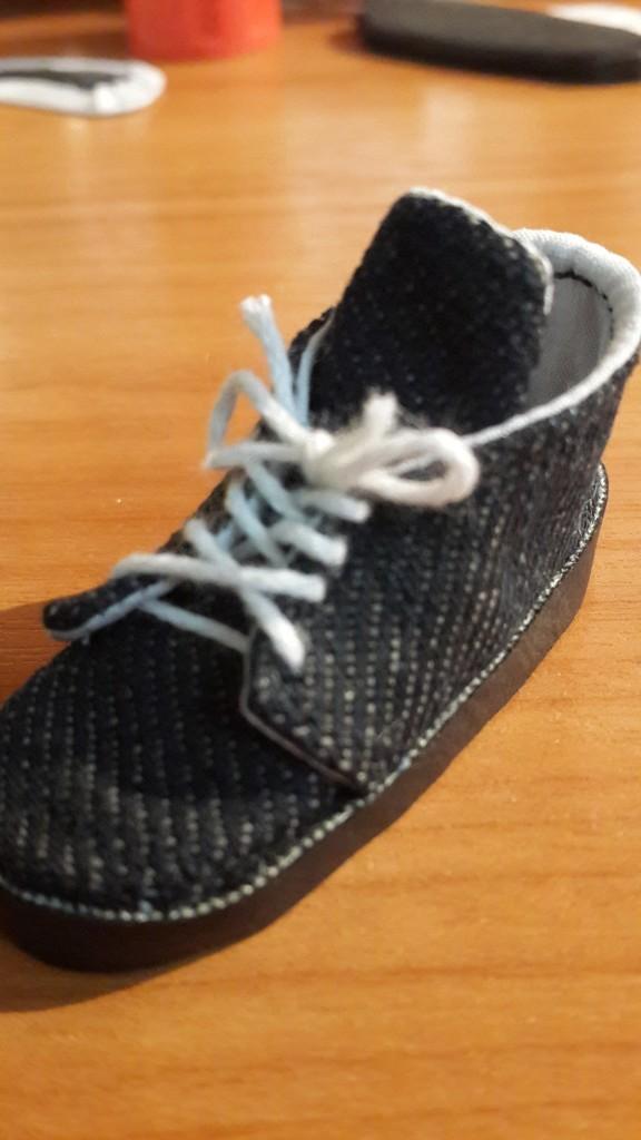 Мой первый опыт создания обуви для мужчин, получилось лучше чем я ожидала