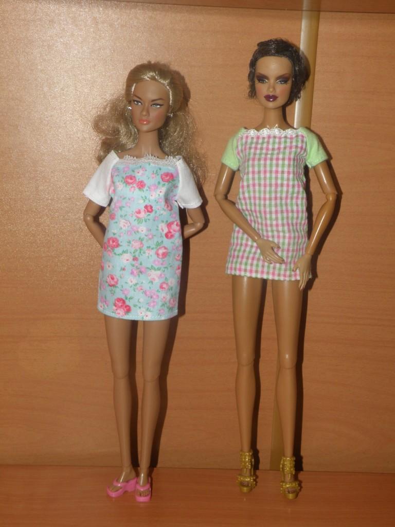 Платья на куклу