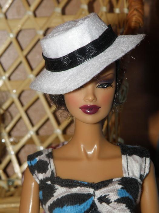 шляпка из фетра для куклы своими руками